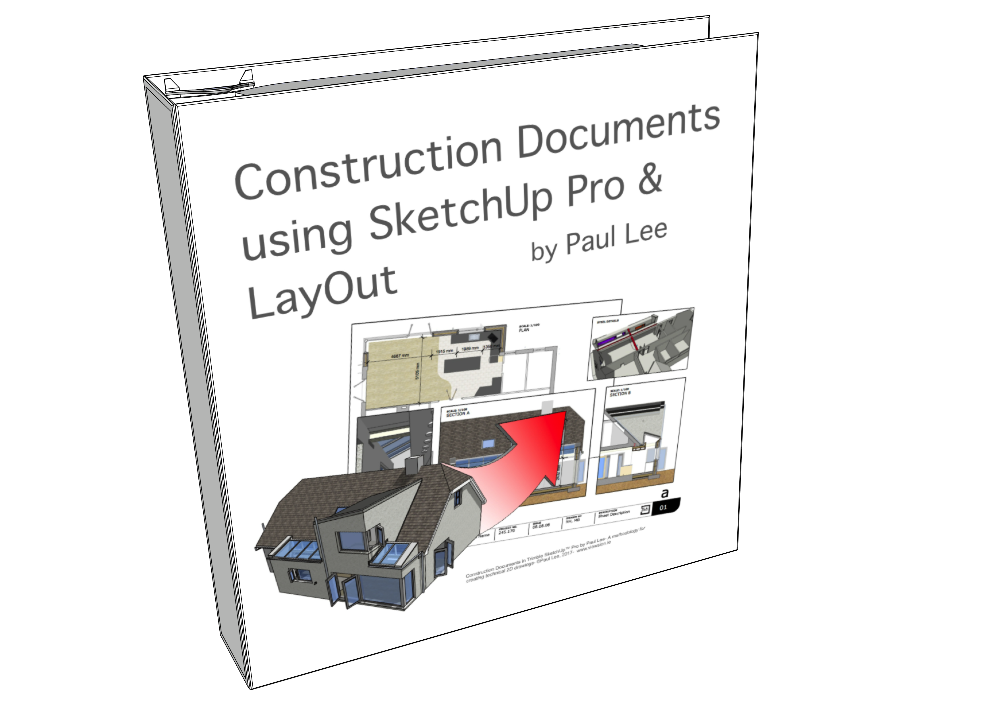 Paul Lee pioneered SketchUp for Construction Documents in the publication of his book in 2012.