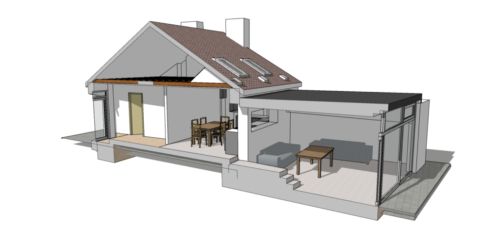 """Image from the book """"Construction Documents Using SketchUp Pro 2020"""""""