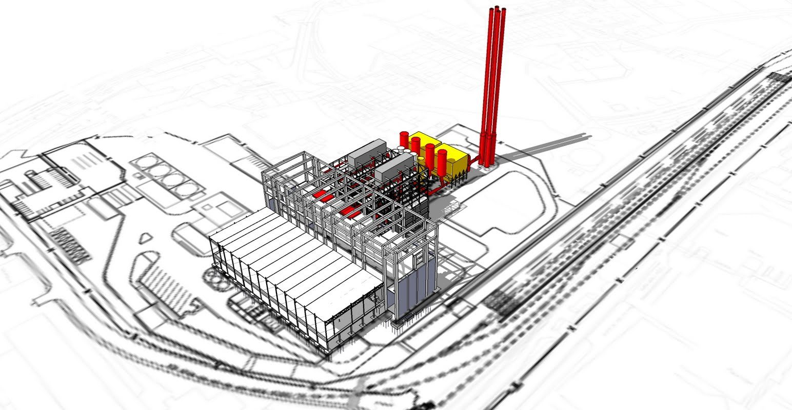 4D BIM programme of power plant in UK for a major contractor.