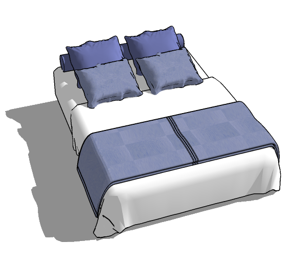 SketchUp Bed Collection